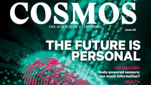 Front cover for the Autumn issue of 'Cosmos'