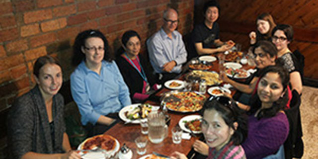 photo taken at Swarali's farewell lunch