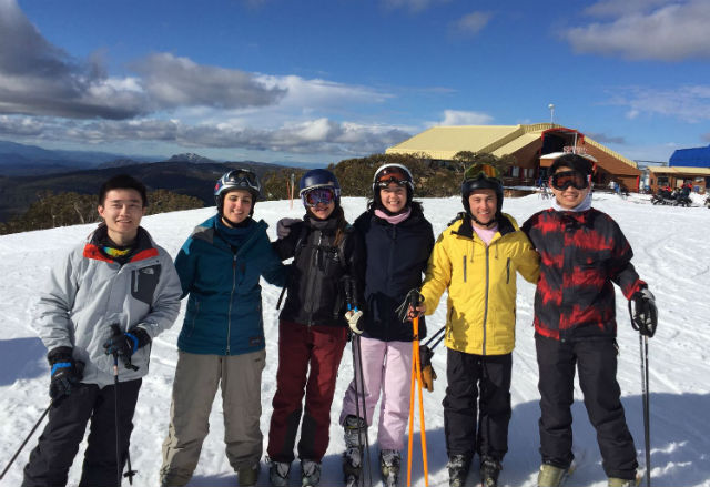 Kent students at Mt Buller 2016