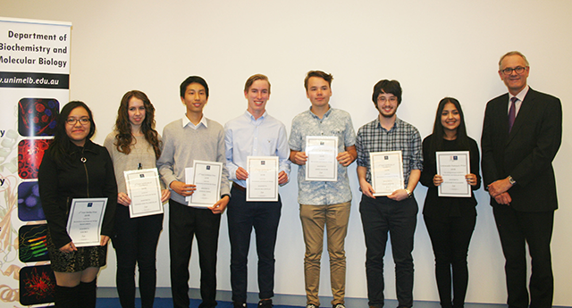 photo of winners of certificates of excellence