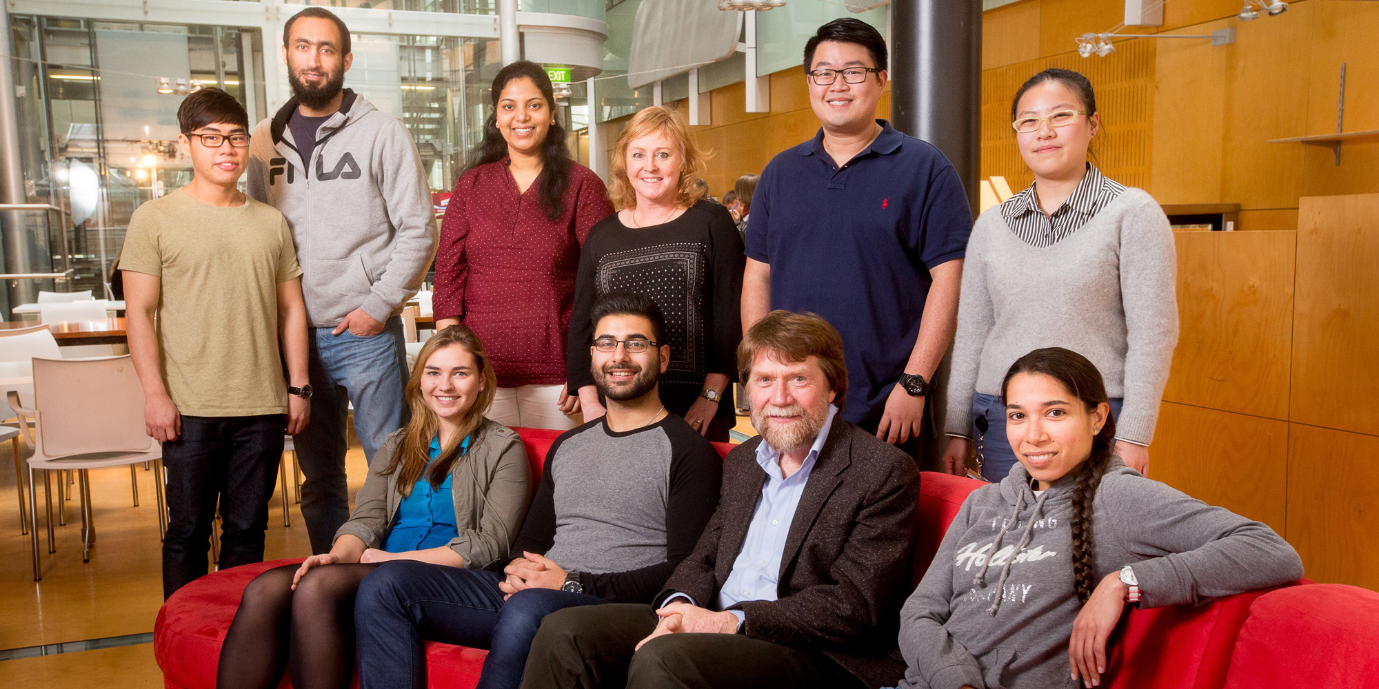 photo of Gleeson Lab Group early 2016
