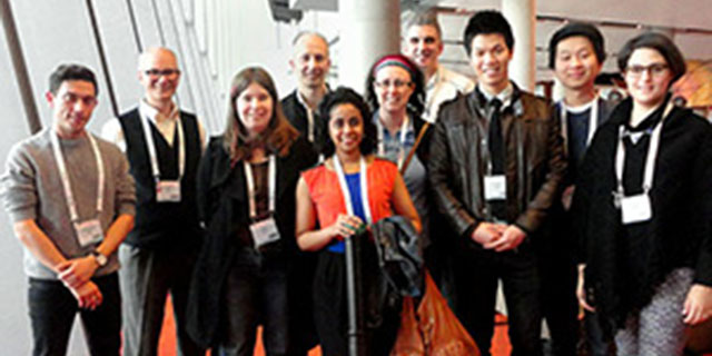 kent lab personnel at AIDS 2014