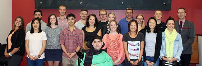 photo of Lynch lab personnel 2015