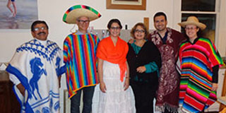 photo from Mexican evening