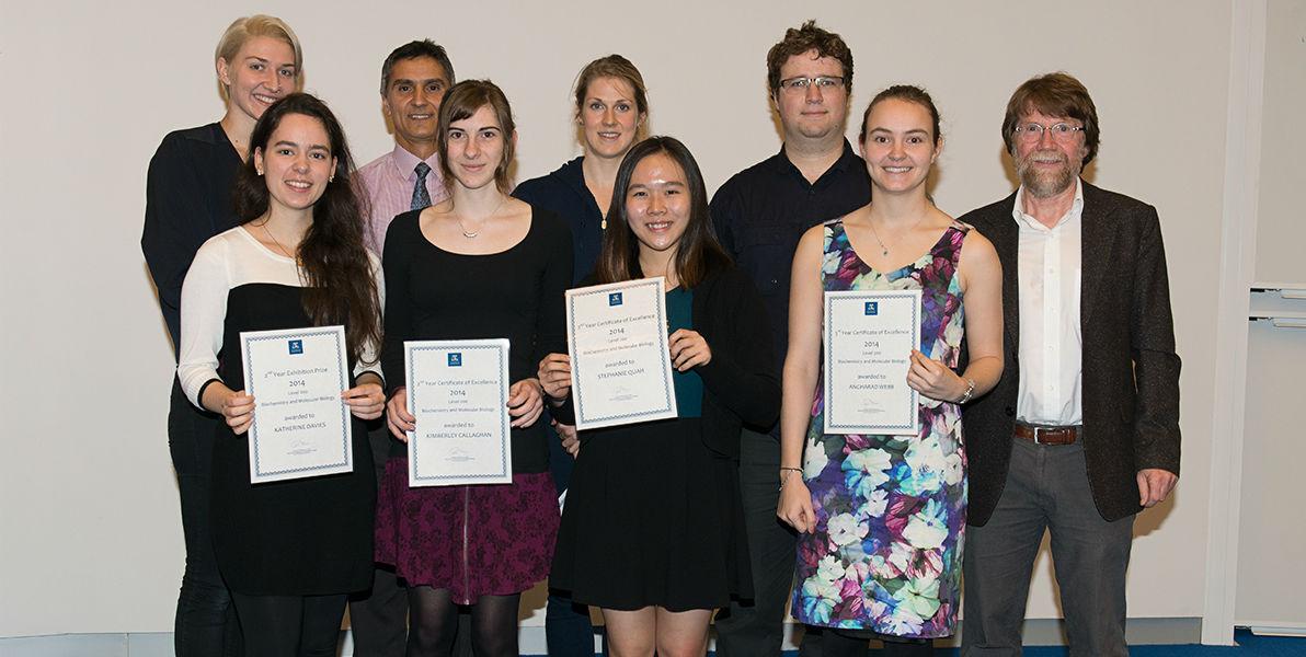 2014 student awardees