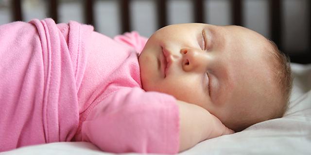 photo of sleeping infant