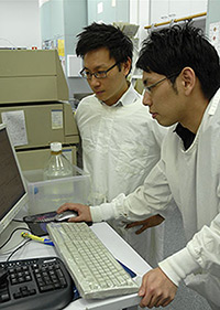 Dr Brendon Chua and Mr Toshiki Sekiya