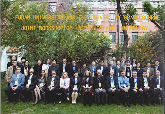 photo of those attending conference in China