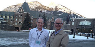 Stephen and Miles  Davenport at Keystone Meeting