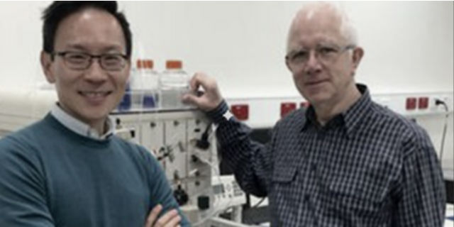 photo of Professor David Jackson and Dr Brendan Chua