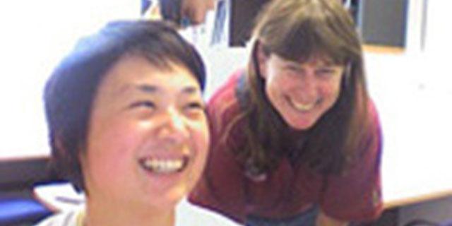 photo of Viv and Liyen